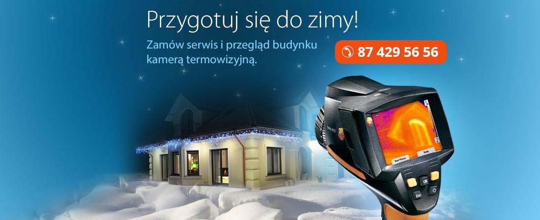 Przygotuj się do zimy! Zamów serwis i przegląd budynku kamerą termowizyjną.